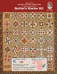 This Quilter's Starter Kit includes the full color instruction book, convenient acrylic cutting templates and many project examples to get you started quilting. Butterfly Quilt, Bear Paws, Book Quilt, Starter Kit, Quilt Making, Farmers, Quilt Blocks, This Book, Quilting