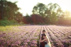 Salem Lavender Field. WOW. This is the wedding I want to the T, and it's in my hometown...coincidence?