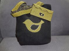 Felted Wool Tote Bag and Clutch by AlfredWoolens on Etsy, $49.00