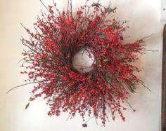 Maine Winterberry Twig Wreath