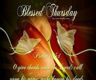 Blessed Thursday Image