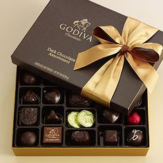Godiva chocolates....