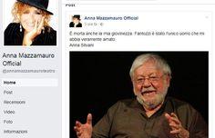 """Bellissima #dichiarazione! #annamazzamauro #i2p """"È morta anche la mia #giovinezza. #Fantozzi è stato l'unico uomo che mi abbia veramente amato. Anna Silvani"""""""