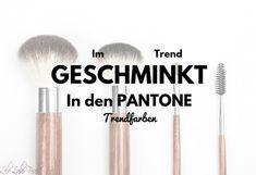 Im Trend geschminkt in den Pantone-Farben Frühling/Sommer http://lelife.de/slug