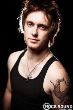 Sam Bettley of Asking Alexandria <3 he smelled good at dont pray for us <3 i wanted to hugg him forever c: