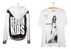 #HEROINKIDS #STREETWEAR the most dangerous fashion brand in the world #WearTheClothesFromTheLabelTheyTryToBan