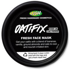 Lush - Oatifix Fresh Face Mask