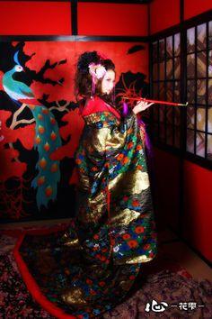 京都花魁体験「心-花雫-」│花魁変身フォトギャラリー1 - http://www.maiko-maiko.com/gallery/oiran_01.html