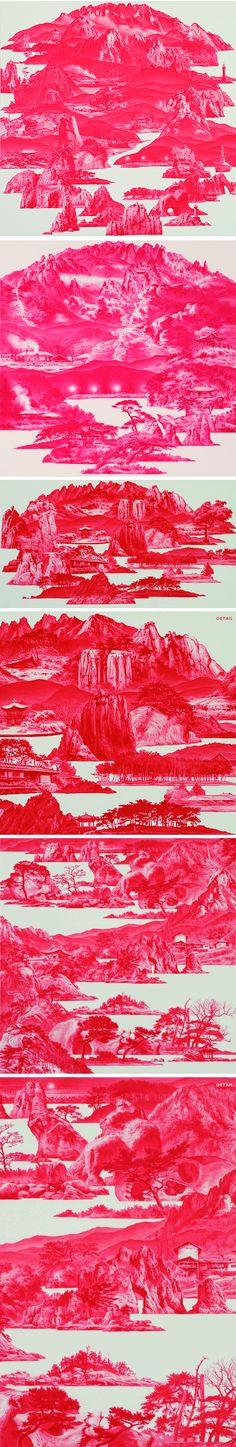 oil paintings by sea hyun lee
