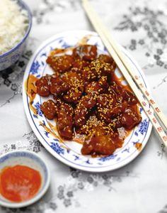 Poulet caramel au sésame (30 MINUTES🕑) : recette chinoise facile   Régal