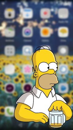 Homer Simpson Wallpaper Iphone - Imagenes De Los Simpson Png - Best of Wallpapers for Andriod and ios Homer Simpson Wallpaper, Simpson Wallpaper Iphone, Wallpaper Iphone Disney, Cute Disney Wallpaper, Cute Wallpaper Backgrounds, Tumblr Wallpaper, Cartoon Wallpaper, Wallpaper S, The Simpsons Movie