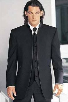 My husbands Tux for our wedding LUV THIS STYLE!