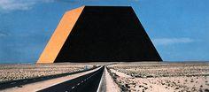 The Abu Dhabi Mastaba, by Christo and Jeanne-Claude, in Abu Dhabi, United Arab Emirates. - The Abu Dhabi Mastaba, by Christo and. Casablanca, Bulgaria, Christo Y Jeanne Claude, Large Artwork, Outdoor Art, Retro Futurism, Paris, Land Art, New Artists