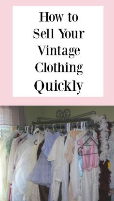 Vintage reselling is a huge trend right now. Here is another way to learn how to sell these Vintage items and where to sell them! Ebay Selling Tips, Selling Online, Ebay Tips, Thrift Store Crafts, Thrift Stores, What Is Vintage, Vintage Clothing Online, Vintage Shop Online, Buy Clothes Online