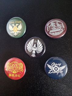 Give away option Pacific Rim button set by tobie1kenobi on Etsy, $10.00