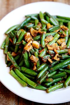 Garlic Green Beans Stir Fry - Recipes, Vegetables - Divine Healthy Food