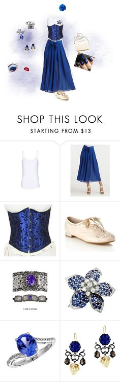 """""""Steampunk-y"""" by devypenguin ❤ liked on Polyvore featuring MANGO, Qi New York, Faith, Madewell, Buccellati, Reeds Jewelers, Lancôme and steampunk"""