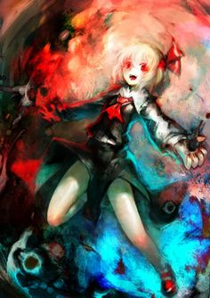 Rumia. I don't know why but I really love her :3 Dark Anime Girl, Anime Girls, Shrine Maiden, Gifted Kids, Old Games, Macabre, Cute Girls, Fantasy Art, Chibi