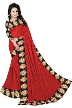 Red Saree, Blouse Designs, Victorian, Dresses With Sleeves, Long Sleeve, Fashion, Moda, Sleeve Dresses, La Mode