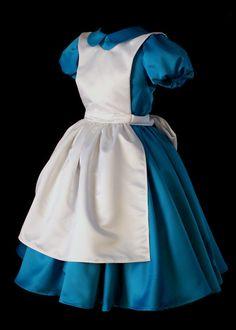 Classic Alice in Wonderland Custom Costume por NeverbugCreations, $400,00