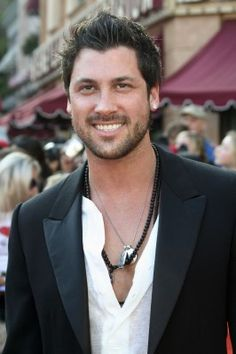 Maksim Chmerkovskiy (Dancing with the Stars) ~ I'll be his dance partner any day.
