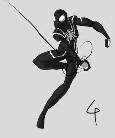 Symbiote Spider-Man by ~AznNerd on deviantART