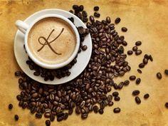 Кофе, чашка, пенка, молекулы, зерна, обои......
