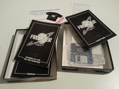 Frontier: Elite 2 for PC IBM big box and collector's notes - Abandonware DOS