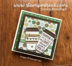 Stampin' Up!  -Coffee Cafe'