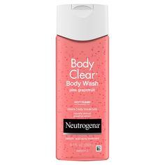 Acne Body Wash, Best Body Wash, Face Wash, Salicylic Acid Acne, Body Cleanser, Skin Care Treatments, Best Acne Treatment, Pink Grapefruit, Neutrogena
