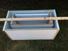 Este (sorta) Old Vida: Como DIY um plantador de concreto