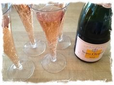 Wine Wednesday : Veuve Clicquot Rose | tedkennedywatson.com