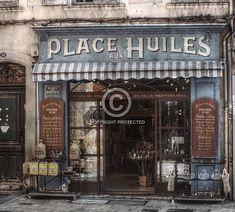 Place aux Huiles in Aix-en-Provence HDR