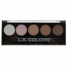Buy L.A. Colors 5 Color Metallic Eyeshadow, Unforgettable with free shipping on orders over $35, low prices & product reviews | drugstore.com