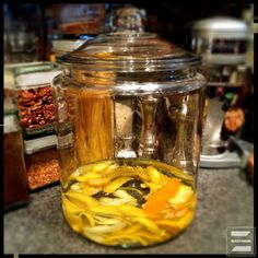 'Tis the season to brew fruit infused liquor! Start a batch of limoncello today, be sipping your own home made (and better!) beverage in a week and a half.