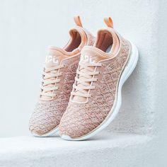 APL Women's Running Shoes TechLoom Phantom Rose Gold