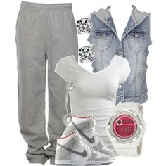 Cute outfit for an active day #getfit #justdoit