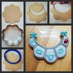 flip the cookie cutter Gray Things a greenish gray color No Bake Sugar Cookies, Fancy Cookies, Cut Out Cookies, Iced Cookies, Cute Cookies, Royal Icing Cookies, Cookie Desserts, Owl Cookies, Cookies Decorados