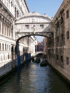 Pont des soupirs , Venise, Italie