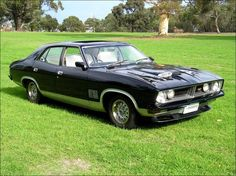 XB Falcon GT 4 Door Australian Muscle Cars, Aussie Muscle Cars, Ford Falcon Australia, Big Girl Toys, Girls Toys, Germany And Italy, Ford Gt, Motor Car, Custom Cars