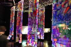 Inside the stained-glass room - Picture of Brama Poznania, Poznan - Tripadvisor Glass Room, Room Pictures, Museums, Trip Advisor, Stained Glass, Photo And Video, Stained Glass Panels, Leaded Glass, Museum