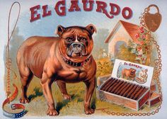 El Gaurdo | Tobacco retro advertising | Tabaco vintage poster #Tobacco #Smoke #Posters #Ads #Adverts #retro #Tabaco #Cigarrillos #Affiches #vintage