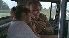 "Meryl Streep & Clint Eastwood in ""The Bridges of Madison"""