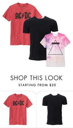 """Men's T-shirts"" by doradesign on Polyvore featuring Gap, Simplex Apparel, Univibe, men's fashion and menswear"