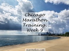 Week 9 of Chicago Marathon training included strength workouts at Orangetheory…