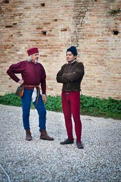 Italian clothing ,15th century