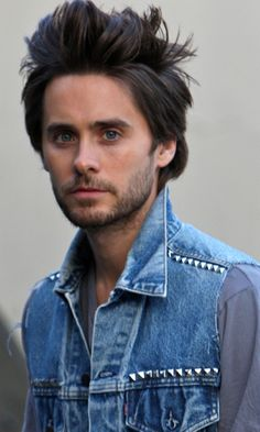#5 Jared Leto Most people know him as an outstanding actor; however he is also a talented musician. He has what people will call a classical beauty upon him, with gorgeous blue eyes, however there is something more about him that makes people simply stop and stare.