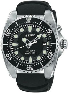 www.mydivewatch.com Seiko SKA413 Dive Watch Seiko SKA413 Kinetic Diver's 200 Meter Men's Dive Watch