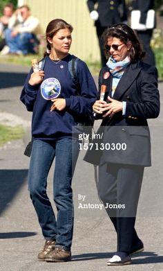 News Photo: Queen Silvia Crown Princess Victoria Of Sweden Attend…