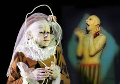 Derevo. Showing at Roundhouse January 2013 at London International Mime Festival